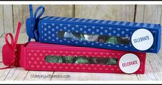 Celebrate Any Occasion Treat Box Christmas Craft Show, Christmas Gift Box, Treat Holder, Treat Box, Candy Crafts, Paper Crafts, 3d Paper, Diy Crafts, Candy Gift Box
