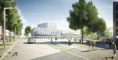 Masterplan en Germering (Alemania) | BAKPAK architects