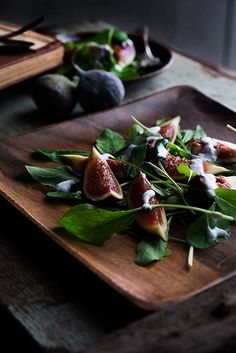 Sweet and tangy Fresh Fig Salad Recipe