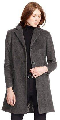 Shop Now - >  https://api.shopstyle.com/action/apiVisitRetailer?id=613623211&pid=2254&pid=uid6996-25233114-59 Women's Lauren Ralph Lauren Wool Blend Reefer Coat  ...