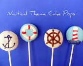 Ocean Cake Pops these would be AWESOME for a PIR