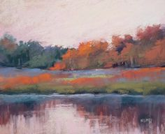 Painting my World: Underpaintings for Pastels:Turpenoid Wash Demonstration