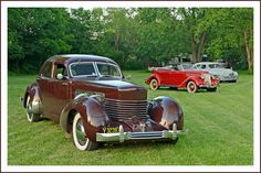 1937 Cord 812, with a 1936 Ford and 1950 Packard   Flickr - Photo Sharing!