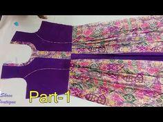 Kurti Sleeves Design, Kurta Neck Design, Sleeves Designs For Dresses, Dress Neck Designs, Sleeve Designs, Neckline Designs, Blouse Designs, Cotton Frocks For Kids, Frocks For Girls