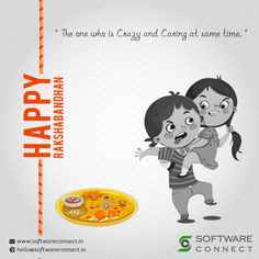 On this Rakshabandhan feel grateful to have a caring and crazy sister who made your childhood memorable. Software Connect wishes you all a very Happy Rakshabandhan with joy and happiness.  #RakshaBandhan #HappyRakshaBandhan #CRMSoftware  #HRMSSoftware  #OrganicSEO  W:http://softwareconnet.in/   M:+918128114511