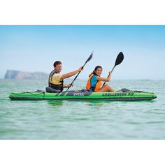Intex Challenger K2 Kayak, 2-Person Inflatable Kayak Set with Aluminum Oars and High Output Air Pump: Amazon.ca: Sports & Outdoors