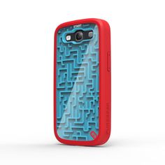 Fab.com   Samsung S3 Case A-Maze-Ing Gamer -I feel like I would spend more time playing the maze on the back than actually using the phone lol.