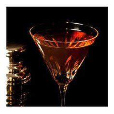 Perfect Pearl Manhattan - Bourbon Cocktail
