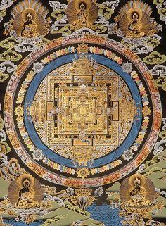 Mandala : L'art éphémère des bouddhistes - MOGWAII