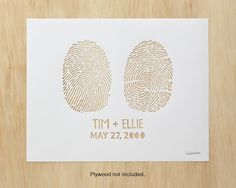 Custom fingerprint piece - hand cut with an Exacto! How fantastic for a wedding gallery. Fun Wedding Invitations, Wedding Cards, Wedding Paper, Laser Co2, Laser Cut Paper, Paper Art, Paper Crafts, Paper Cutting, Wood Cutting