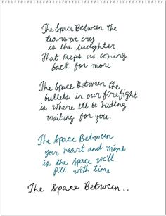 """space between"" by dave matthews lyrics - Google Search"