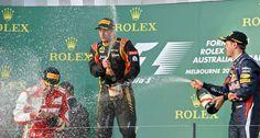 La victoria de Kimi. Primera carrera de la temporada/ 17 de marzo de 2013