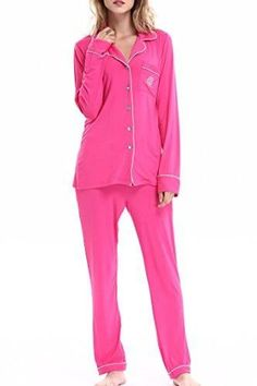 97cc057207 Women s Sleepwear Long Sleeves Pajama Set With Pants by NORA TWIPS(XS-XL)