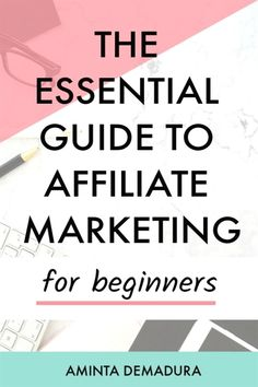 Affiliate marketing as a beginner isnt nearly as complicated as you might think Affiliate Marketing, Marketing Program, Digital Marketing Strategy, Business Marketing, Internet Marketing, Online Marketing, Content Marketing, Business Tips, Marketing Strategies