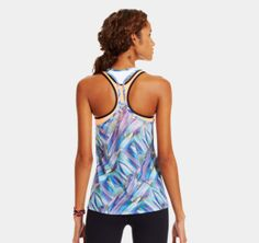 Women's UA Fly-By Printed Mesh Tank | 1243040 | Under Armour US