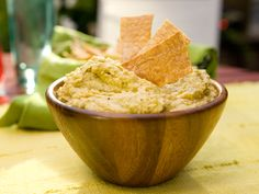 Spicy Crushed Hummus - Bobby Flay