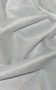 Similar to our Cotton Voile, but with a tighter weave and a nice sheen, this fabric has a very smooth silky feel.