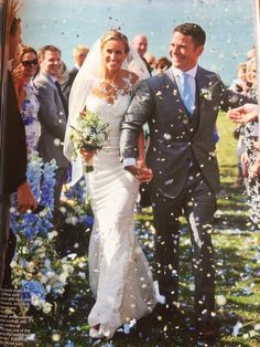 So delighted to have done the flowers for Helen Glover and Steve Backshall's wedding