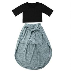Velvet passion σετάκι φόρμας με ρίγα | My Little One Holiday Wear, Little Fashion, Affordable Fashion, Style Icons, Kids Outfits, Rompers, Urban, Stylish, Tees