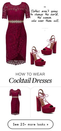 """""""#4"""" by ziafabulous on Polyvore featuring Notte by Marchesa and Aquazzura"""
