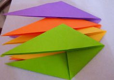 Origami: Origami Tomoko fuse Espiral