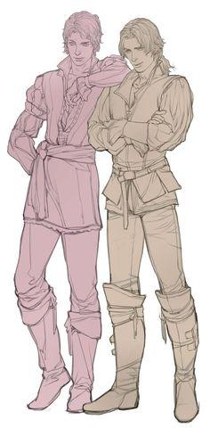 Ezio y Federico Auditore da Firenze