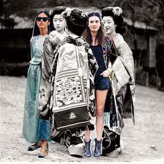 El #kimono regresa para quedarse Entra a www.elle.mx y checa cómo llevarlo de la forma más cool   via ELLE MEXICO MAGAZINE OFFICIAL INSTAGRAM - Fashion Campaigns  Haute Couture  Advertising  Editorial Photography  Magazine Cover Designs  Supermodels  Runway Models