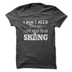 GO SKIING T-Shirts, Hoodies. GET IT ==►…