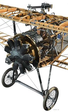 Wings in the sky — Nieuport 17 Cutaway Ww2 Aircraft, Military Aircraft, Fokker Dr1, Aircraft Interiors, Old Planes, Vintage Airplanes, Aircraft Design, Aviation Art, Model Airplanes