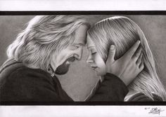 No More Despair by LittleRamona on deviantART ~ artist Denise Nijs from the Netherlands ~ Theoden & Eowyn ~ LOTR
