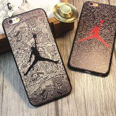 ジョーダン ブランド jordan iphone8 ケース アイフォン7s カバー 浮き彫り ソフトケース 男性 アイフォン7プラス iphone6 iphone7 マット素材 スポーツ