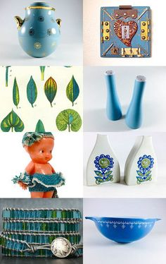 Tangled up in blues.. by Linda on Etsy--Pinned with TreasuryPin.com