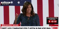 Michelle Obama: 'A Candidate Is Not Going to Suddenly Change Once They're in Office' | MRCTV