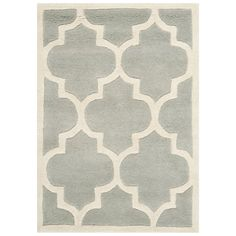 Shop Safavieh  CHT733E Chatham Area Rug, Grey / Ivory at ATG Stores. Browse our area rugs, all with free shipping and best price guaranteed.