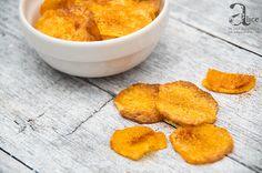 Cipsuri de cartofi dulci