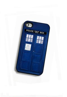 iPhone Case / Fits Iphone 4, 4S Sci Fi British Police Box. $18.00, via Etsy.   :-)