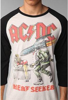 AC/DC Raglan Tee