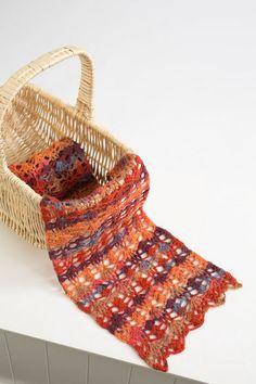MixedBerriesedit-free scarf knitting pattern