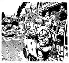 Shadowrun - Car Chase by SteamPoweredMikeJ.deviantart.com on @DeviantArt