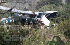 Avioneta se desplomó en carretera Acultzingo a Tehuacán; poblano herido - El Sol de Puebla