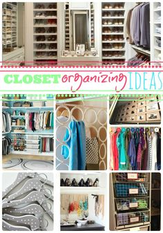 Closet organizing ideas so that you can find the one. Here are a lot of closet organizing ideas so that you can find the one that fits your likes and needs. I have a hard time picking just one! Best Closet Organization, Closet Storage, Organization Hacks, Organizing Ideas, Organising Tips, Wardrobe Organisation, Kitchen Organization, Master Closet, Closet Bedroom