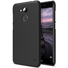 Coque Huawei Honor 6C Pro Nillkin Rigide Givrée - Noir