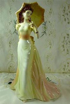 "Coalport ""Vicky"" Figurine Ladies of Fashion Collection."