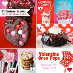 Love From The Oven Valentine Treats