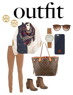 """""""Interior Designer"""" by merewhitmer on Polyvore featuring Louis Vuitton, Ray-Ban, AG Adriano Goldschmied, Native Union, BP., J.Crew, Tory Burch, Venus, jobinterview and 60secondstyle"""
