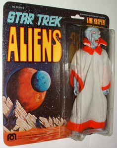 1975 The Keeper (Star Trek Aliens) action figure by Mego