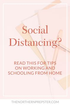 Tips on working and schooling from home during the coronavirus pandemic, when social distancing, and/or during a quarantine. ★·.·´¯`·.·★ follow @motivation2study for daily inspiration