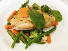 Denné menu Vranov | Steak z kuracích pŕs na teplej anglickej zelenine - Hotel Patriot*** #hotel #restauracia #dennemenu