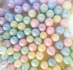 #balloons #pastel #partydecor Wedding Balloon Decorations, Wedding Balloons, Birthday Balloons, Bubblegum Balloons, Pastel Balloons, Big Round Balloons, Mermaid Balloons, Balloon Shop, Pastel Bouquet