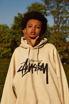 wastelandian:    Poppy Okotcha for Stussy FW15